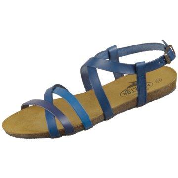 Plakton Sandale blau