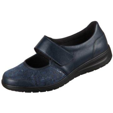 Solidus Komfort Slipper blau