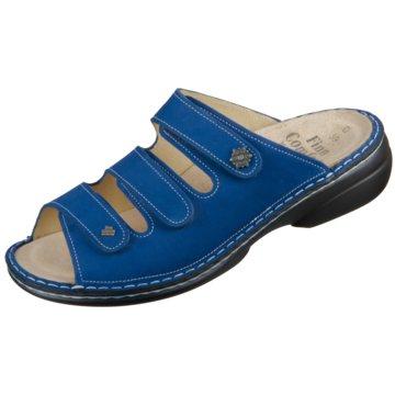 FinnComfort Komfort Pantolette82564 007440 blau