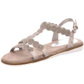 Tom Tailor Sandale gold