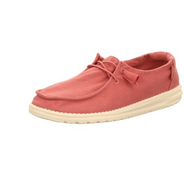 Hey Dude Shoes Mokassin Schnürschuh pink