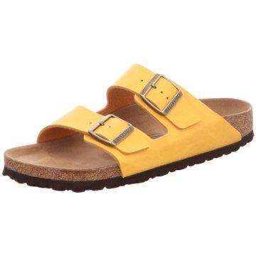 Birkenstock Pantolette gelb