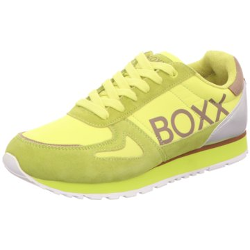 BOXX Sneaker Low gelb