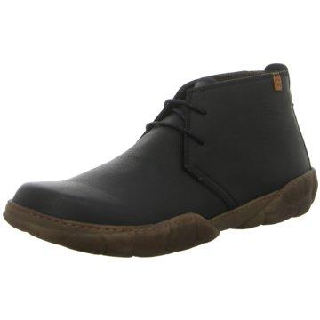 El Naturalista Komfort Stiefel schwarz