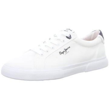 Pepe Jeans Sneaker LowKenton Basic Man weiß