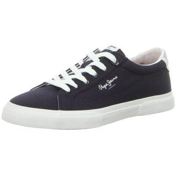 Pepe Jeans Sneaker LowKenton Basic Man blau