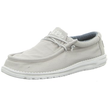 Hey Dude Shoes Mokassin SchnürschuhWally Washed weiß
