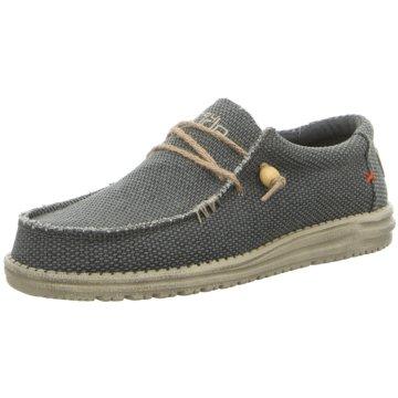 Hey Dude Shoes Mokassin SchnürschuhWally Braided schwarz