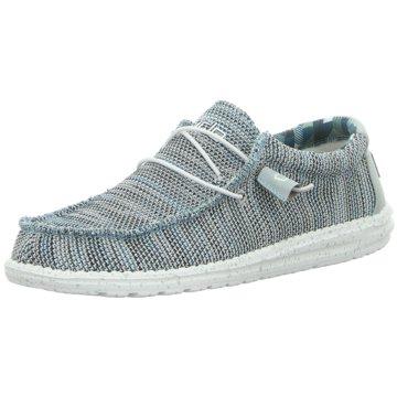 Hey Dude Shoes Mokassin SchnürschuhWally Sox grau