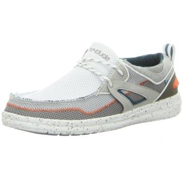 Hey Dude Shoes Mokassin SchnürschuhWally Storm weiß