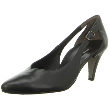 Paul Green Riemchenpumps schwarz