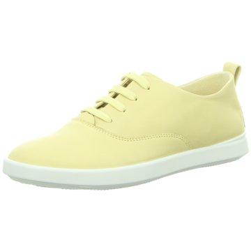 Ecco Sneaker Low gelb