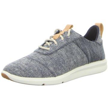 TOMS Sneaker Low blau