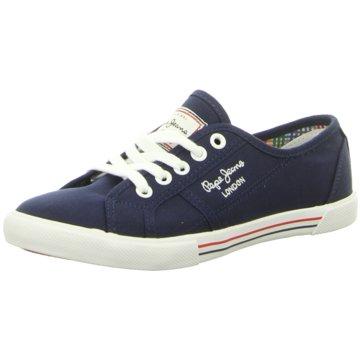 Pepe Jeans Sneaker LowAberlady Basic 17 blau