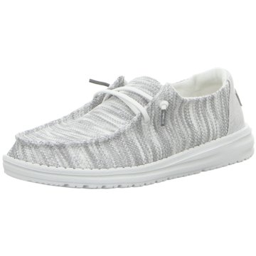 Hey Dude Shoes Mokassin SchnürschuhWendy Sox grau
