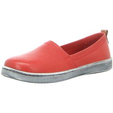 Andrea Conti Sportlicher Slipper rot