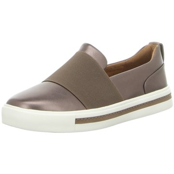 Clarks Sportlicher SlipperUn Maui Step gold