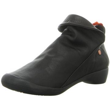 Softinos Komfort Stiefelette schwarz