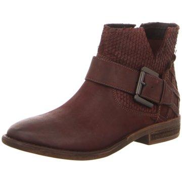 SPM Shoes & Boots Klassische StiefeletteCalvados rot