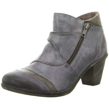 Remonte Ankle Boot blau