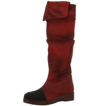 Papucei Overknee Stiefel rot
