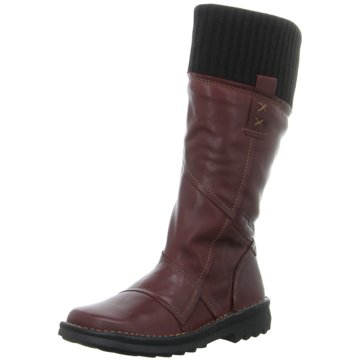 camel active Komfort Stiefel rot