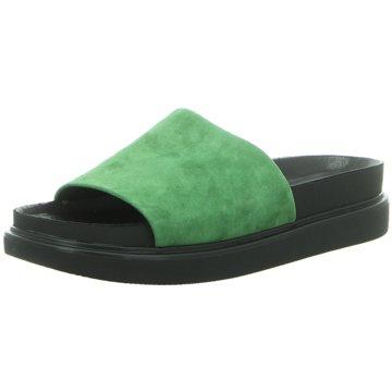 Vagabond Klassische Pantolette grün