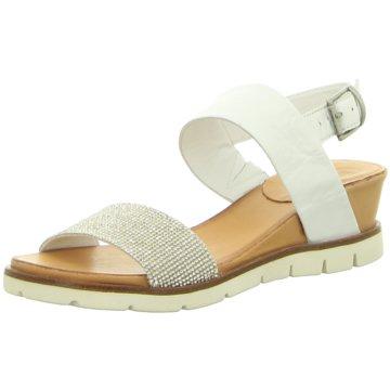 MACA Sandalette weiß