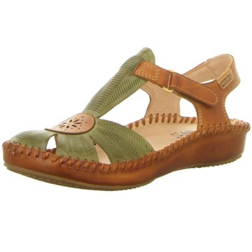 Pikolinos Komfort Sandale grün