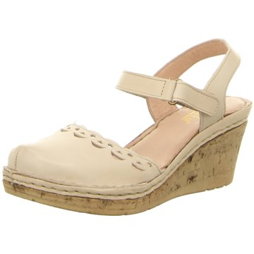 Pölking Komfort Sandale beige