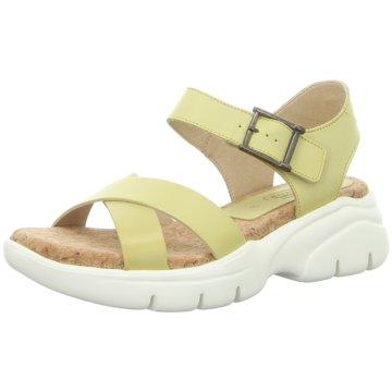 camel active Komfort Sandale gelb