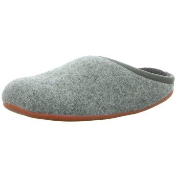 Camper Hausschuh grau