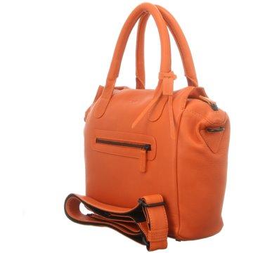 Voi Leather Design Taschen DamenKurzgrifftasche orange