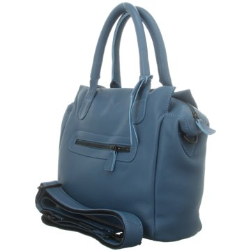 Voi Leather Design Taschen DamenKurzgrifftasche blau