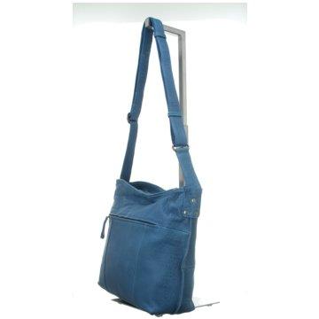 Voi Leather Design Taschen blau