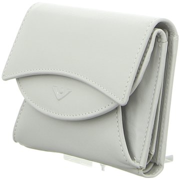 Voi Leather Design Geldbörse grau