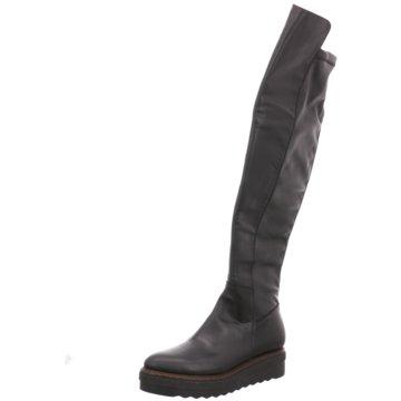 Donna Piu Overknee Stiefel schwarz