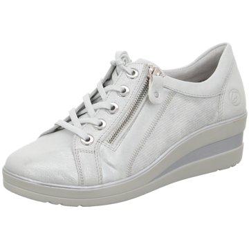 Remonte Komfort SchnürschuhSneaker weiß