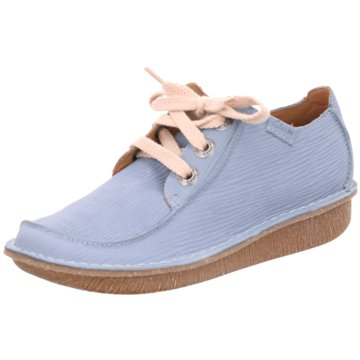 Clarks Komfort MokassinFunny Dream blau