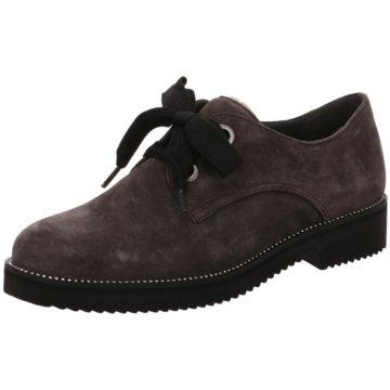 Gabor comfort Klassischer SchnürschuhSneaker grau