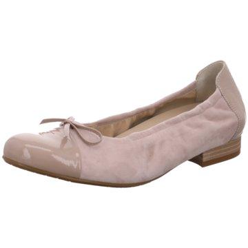 Semler Klassischer Ballerina beige