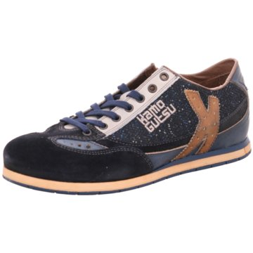 Kamo-Gutsu Sneaker Low blau