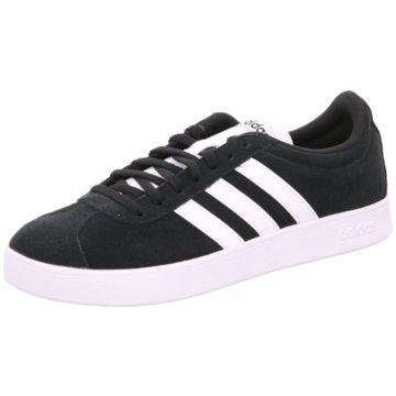 adidas Sneaker LowVL COURT 2.0 - DA9853 schwarz