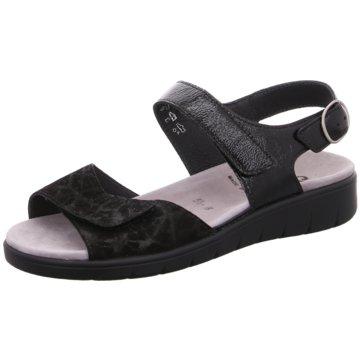 Semler Komfort SandaleWeite H schwarz