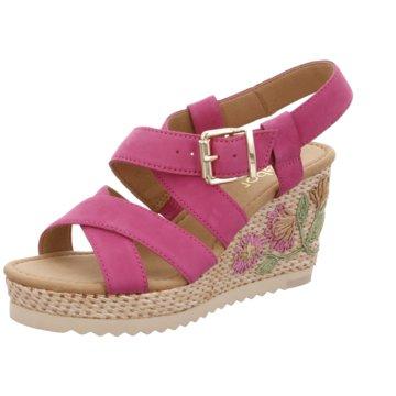 Gabor Espadrilles Sandalen pink