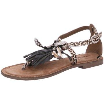 Lazamani Top Trends Sandaletten weiß
