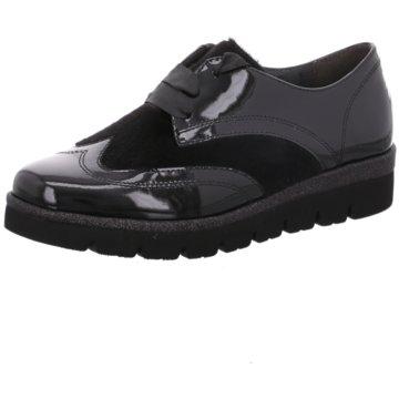 Gabor Klassischer Schnürschuh schwarz