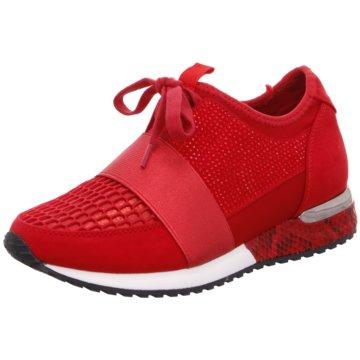 La Strada Sportlicher SchnürschuhSneaker with Strap rot