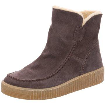 Gabor Winter Boots für Damen aus Leder 789011 (Braun)