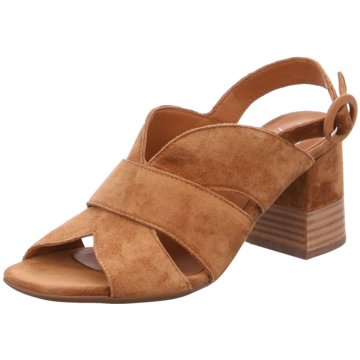 Alpe Woman Shoes Sandale braun